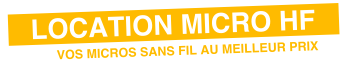 location micro sans fil