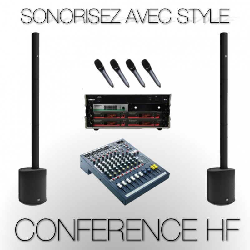 Pack Sonorisation Conférence & Discours Complet