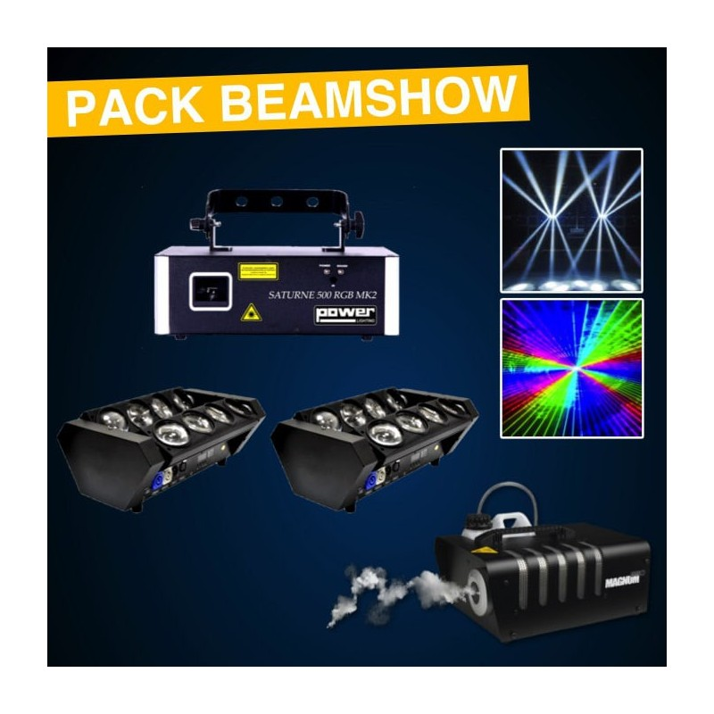 Location Pack Light BeamShow