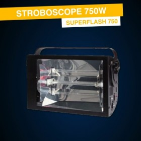 Location Stroboscope 750W