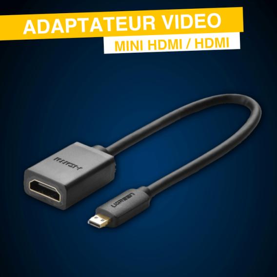 Adaptateur Mini Hdmi / Hdmi