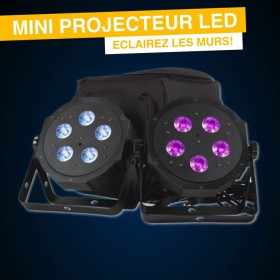 Location projecteur de couleur led