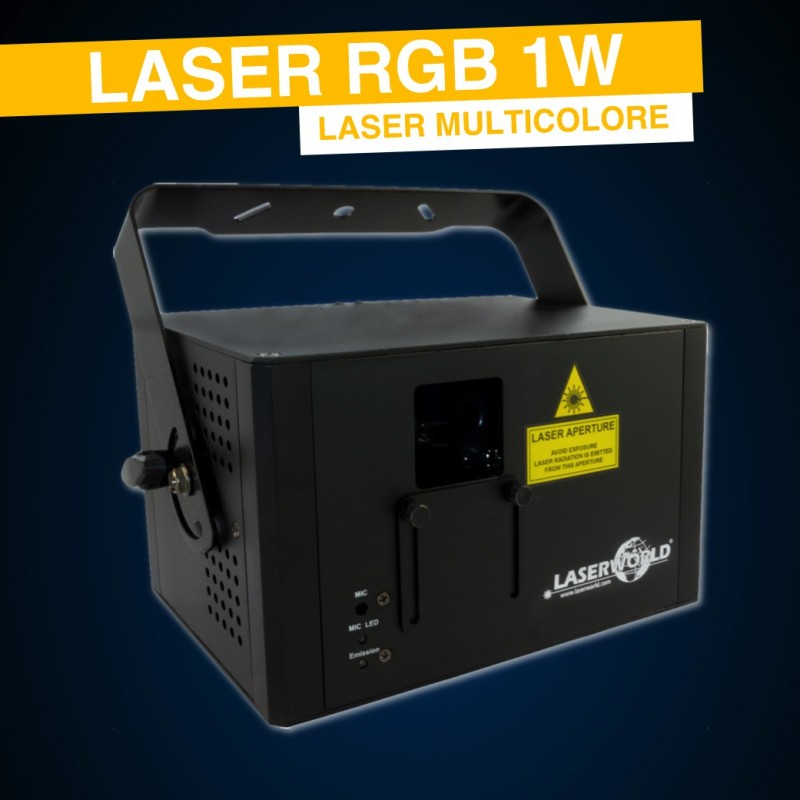 Location Laser RGB 1W