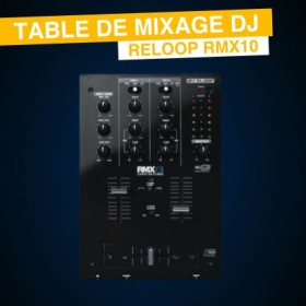 Location Table de Mixage Reloop