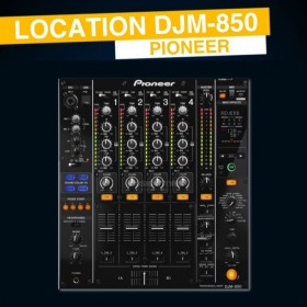 Location DJM 850 Pioneer