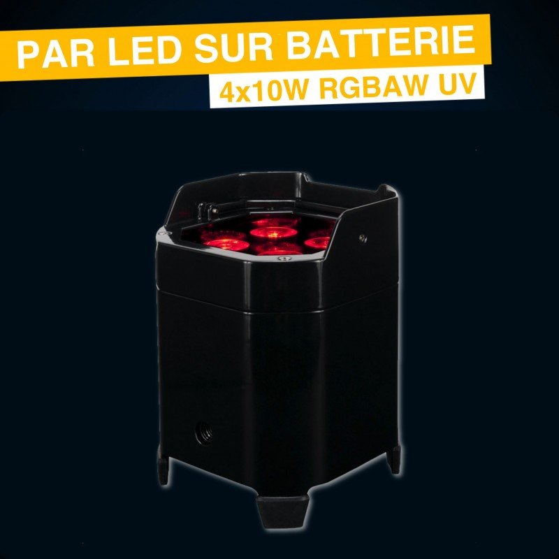 Location par led sur batterie