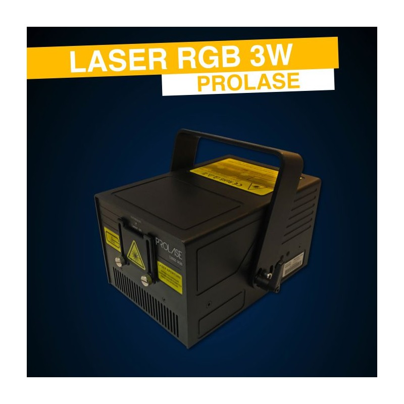 location laser rgb 3w