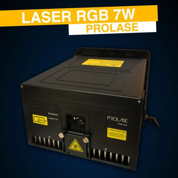 Location Laser RGB 7W