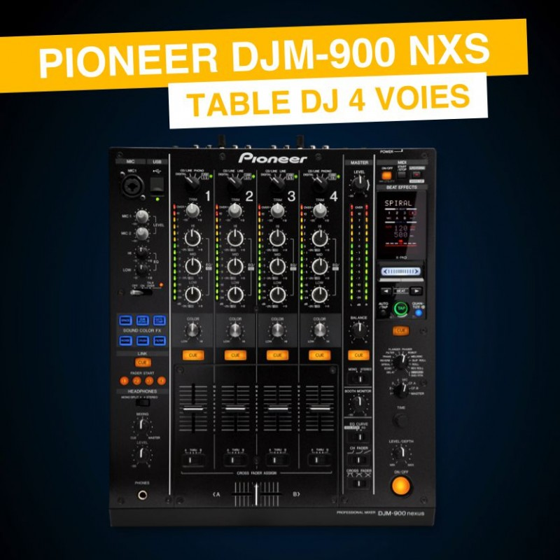 Location DJM-900 NEXUS Pioneer