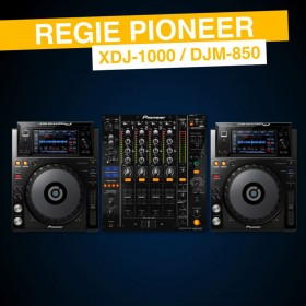 Régie XDJ-1000 DJM-850