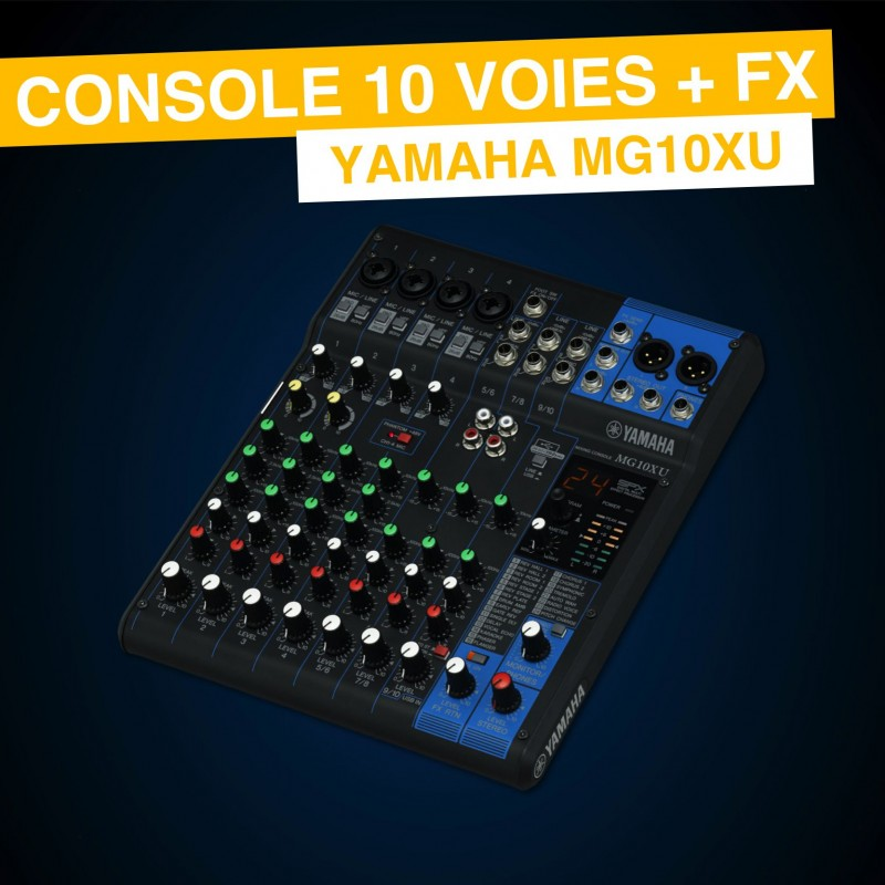 Location Yamaha MG10XU
