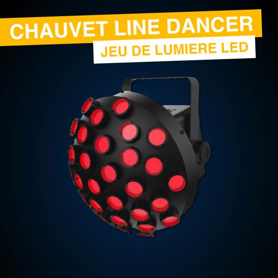 Line Dancer - Jeu de lumière Disco Led