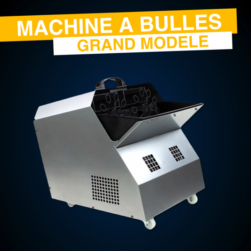 Location Machine à Bulles Grand Modèle