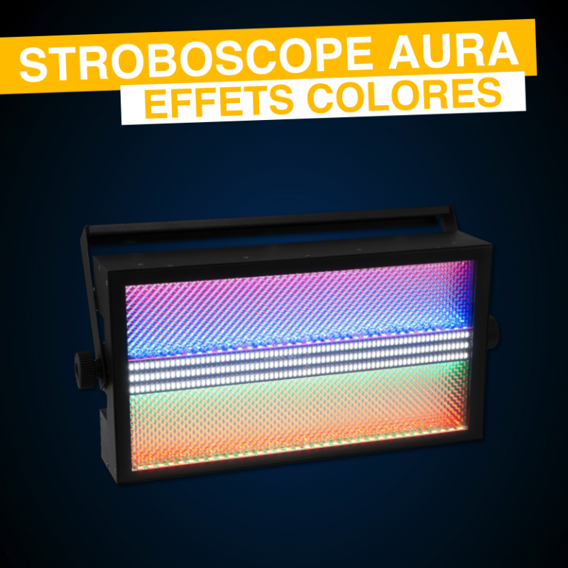 Location Stroboscope Moyenne Puissance Effet Aura