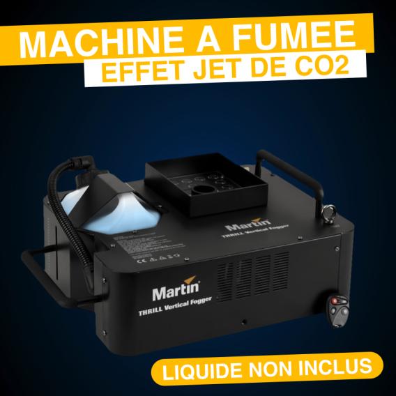 Location Machine à fumée effet CO2 Jet Vertical