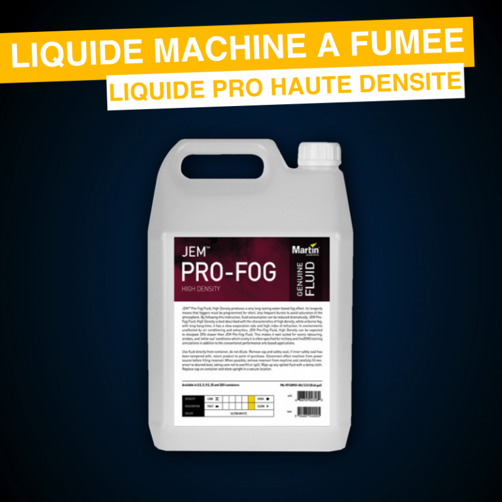 Liquide Fumée Pro Haute densité