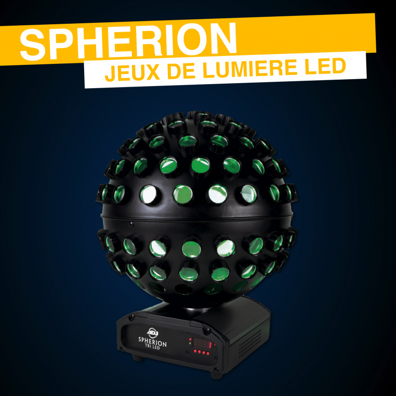 Location Spherion Tri-led American DJ