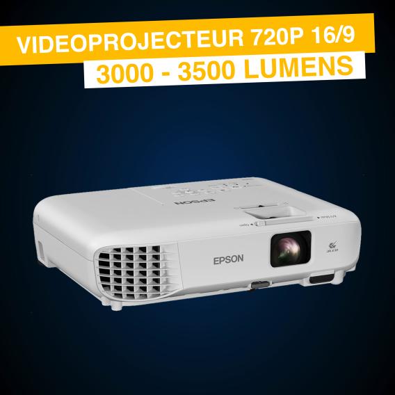Location Vidéoprojecteur 720P 16/9