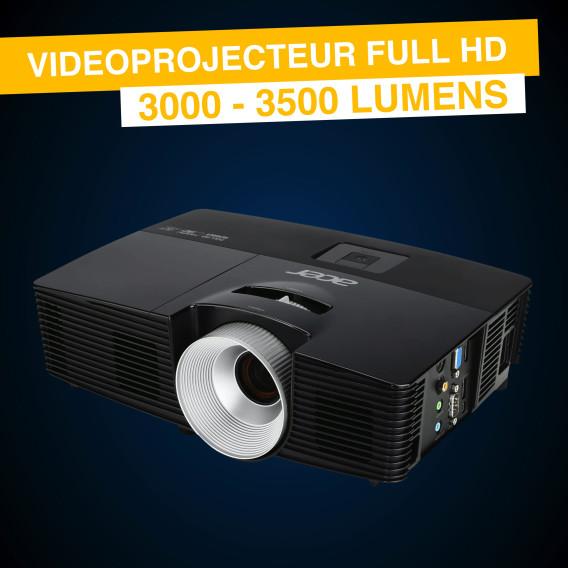 Location Vidéoprojecteur Full HD - 3500 lumens