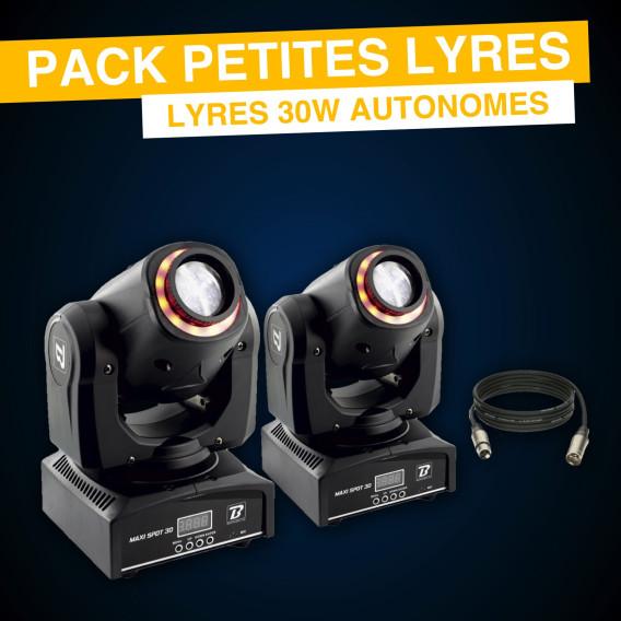 Pack Petites Lyres Led