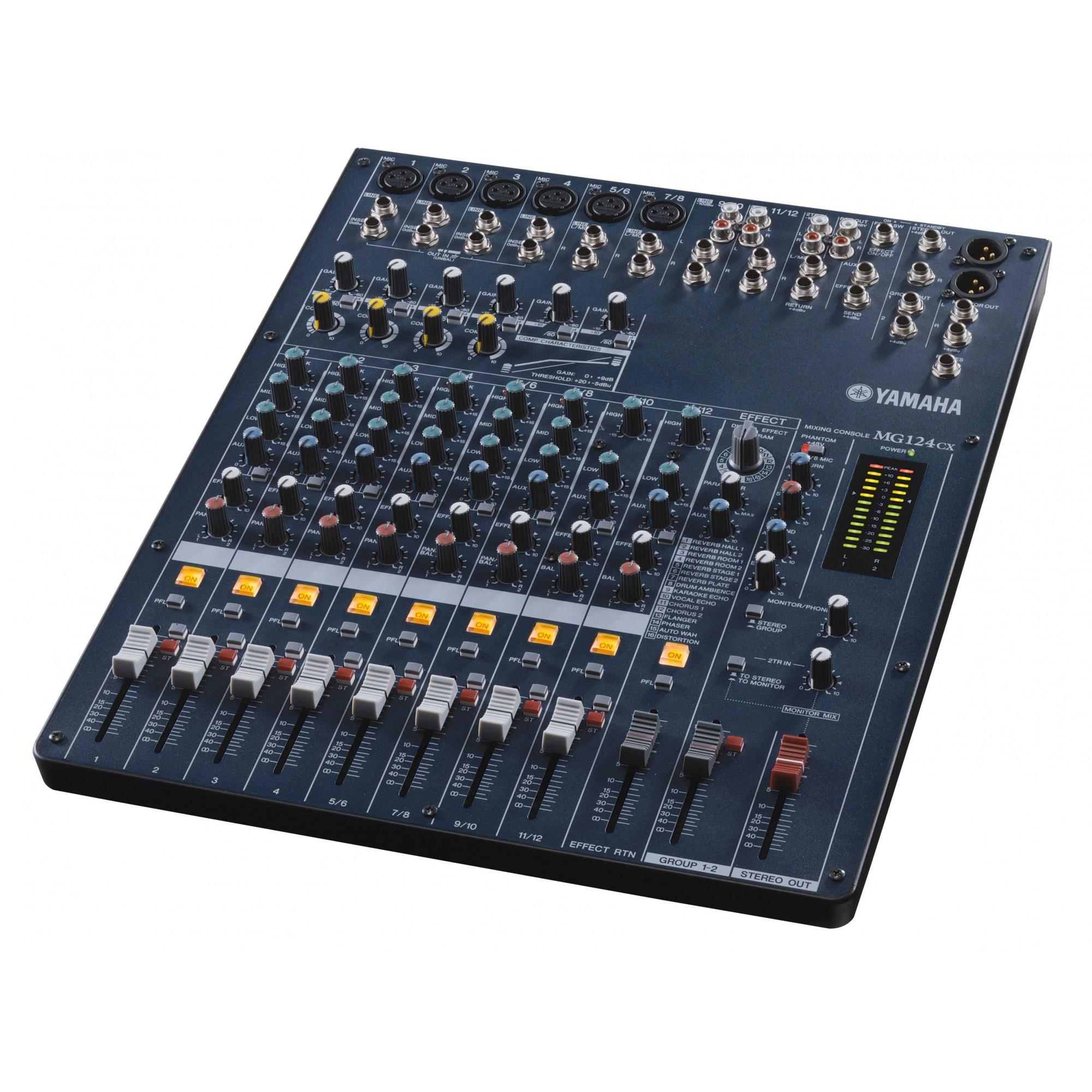 Location table de mixage yamaha mg124cx console de mixage yamaha for Table yamaha