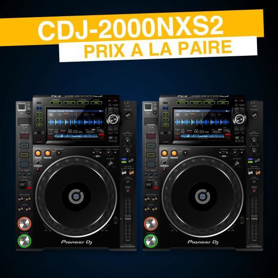 Location Pioneer CDJ-2000NXS2 (Paire)