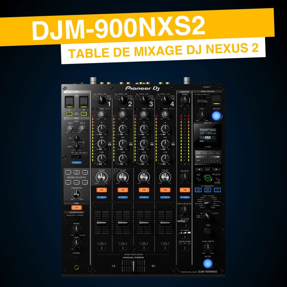 Location Pioneer DJM-900NXS2