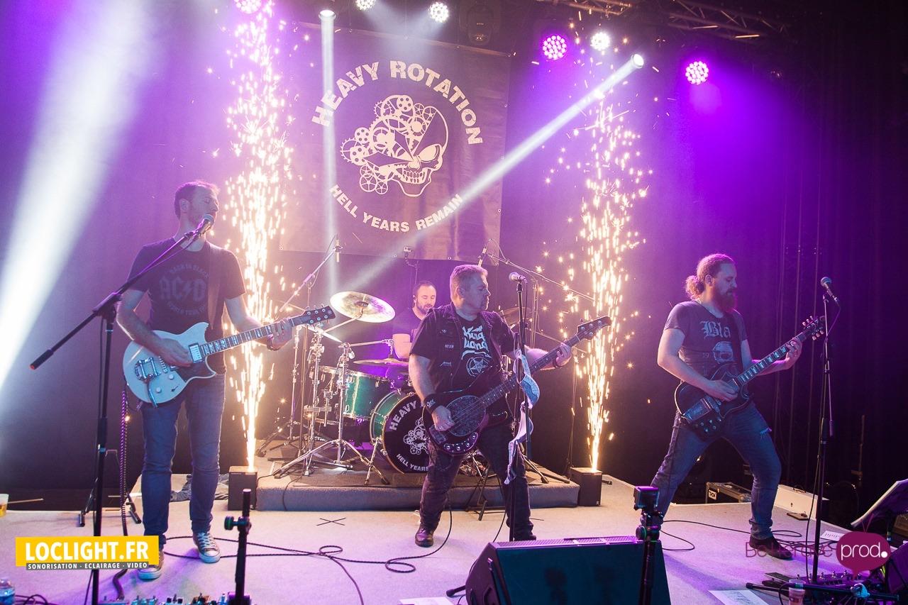 location sparkular mini pour concert metal